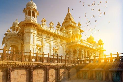 The Jaswant Thada in Jodhpur