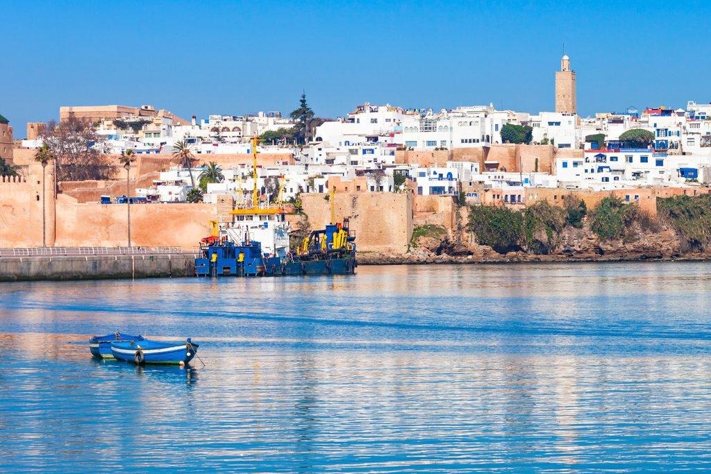 Enjoy the coast in Rabat, capital of Morocco