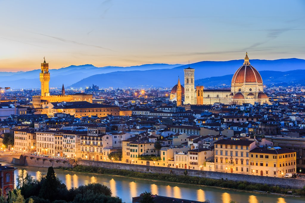 Beautiful Florence by Night