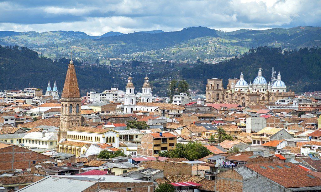 Cuenca is the best-preserved colonial city in Ecuador