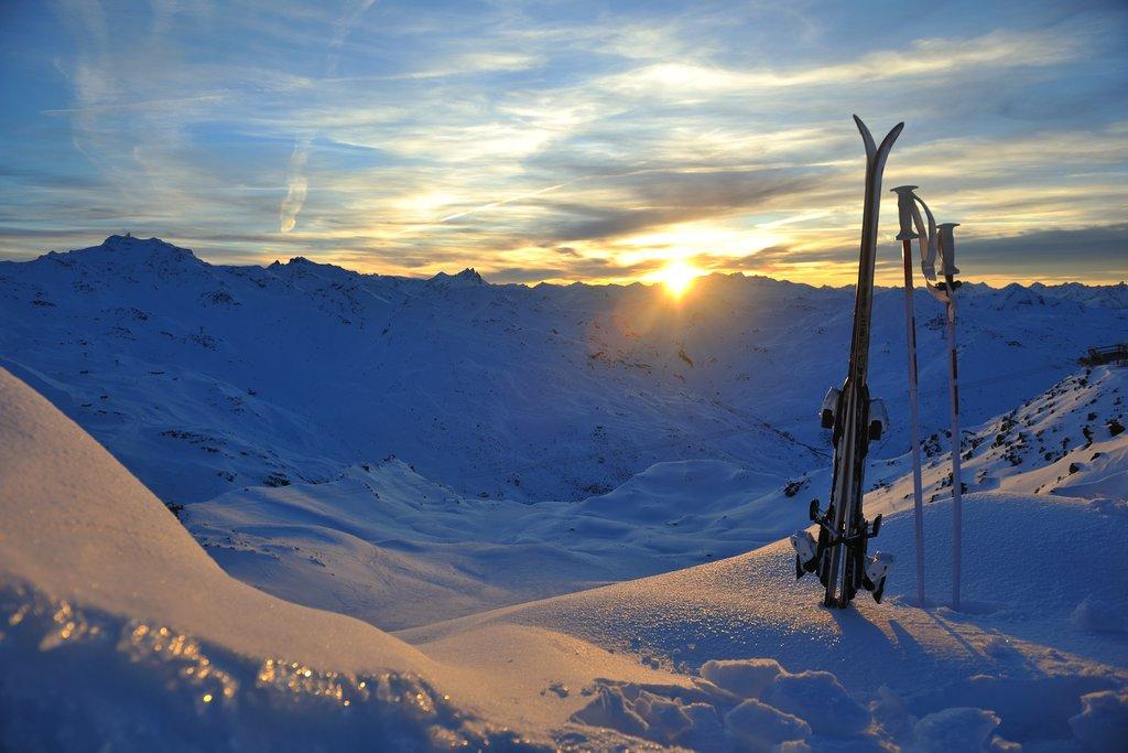 Trois Vallées ski area