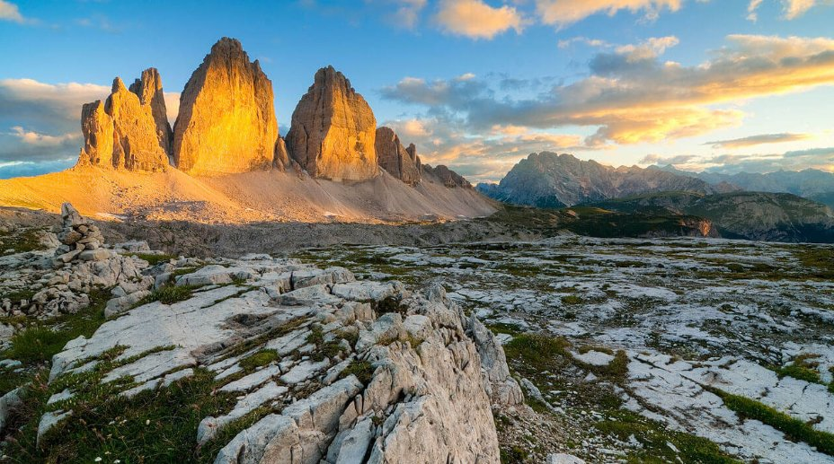The Three Peaks of Lavarone, Dolomites