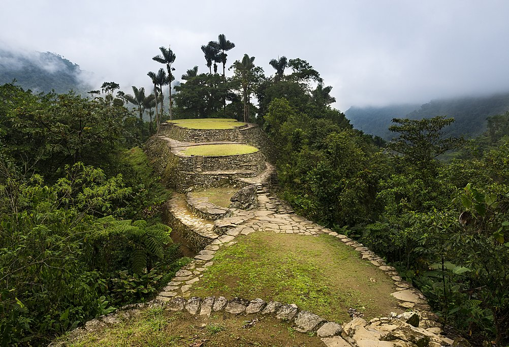 View of the Lost City