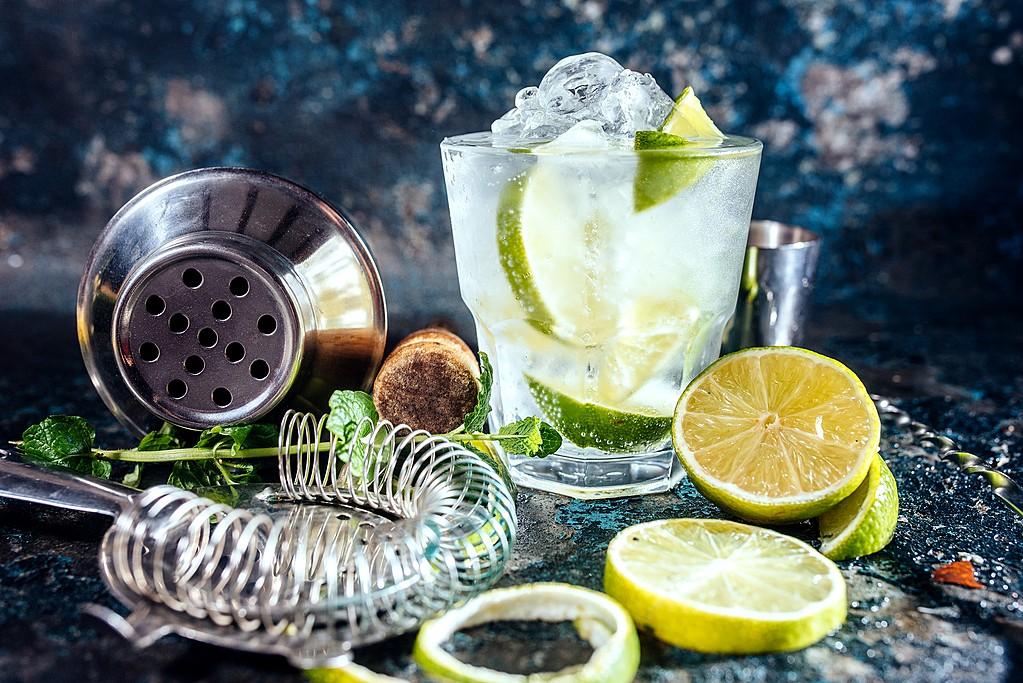 Enjoy a delicious cocktail in Cartagena