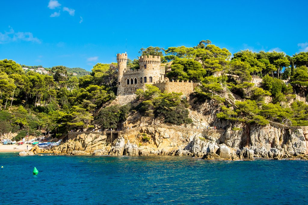 Sant Joan Castle in Lloret de Mar