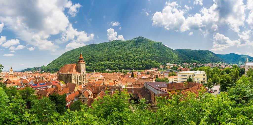 Medieval Town of Brașov, Romania