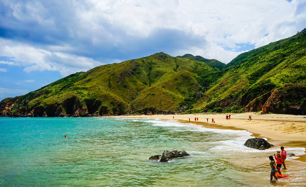 Enjoy free time to hit the beach in Quy Nhon