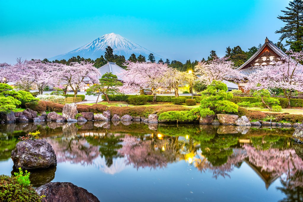 Japan in March