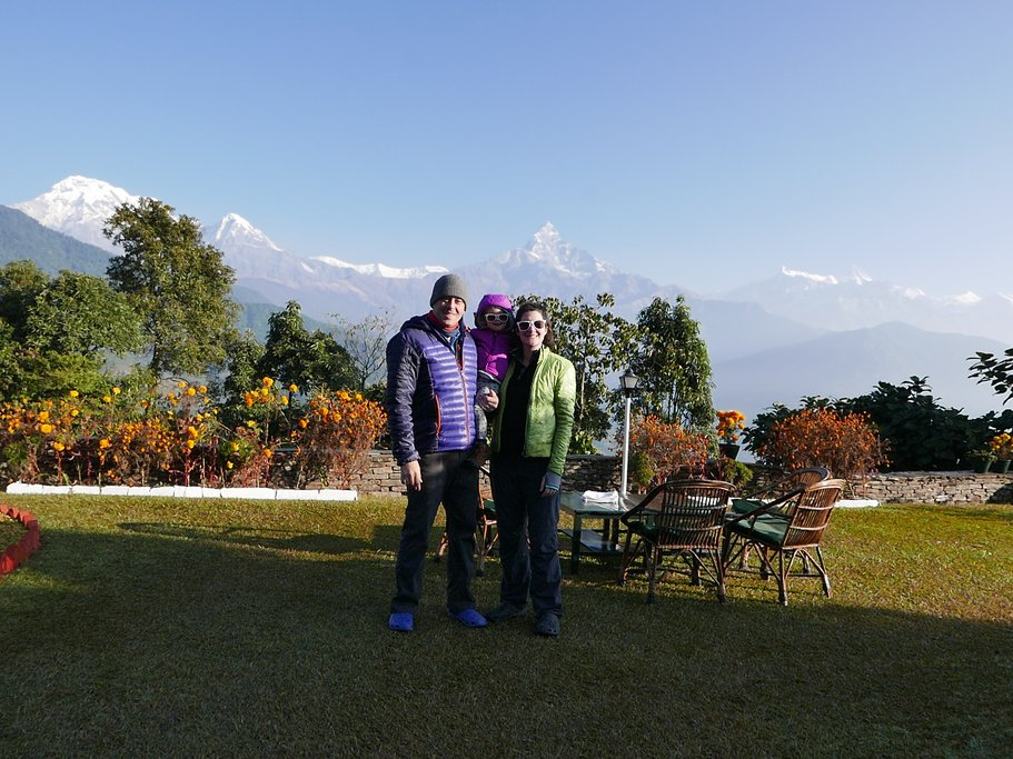 Family Adventure in Nepal: Trekking in the Annapurna Foothills and exploring Chitwan with a young child