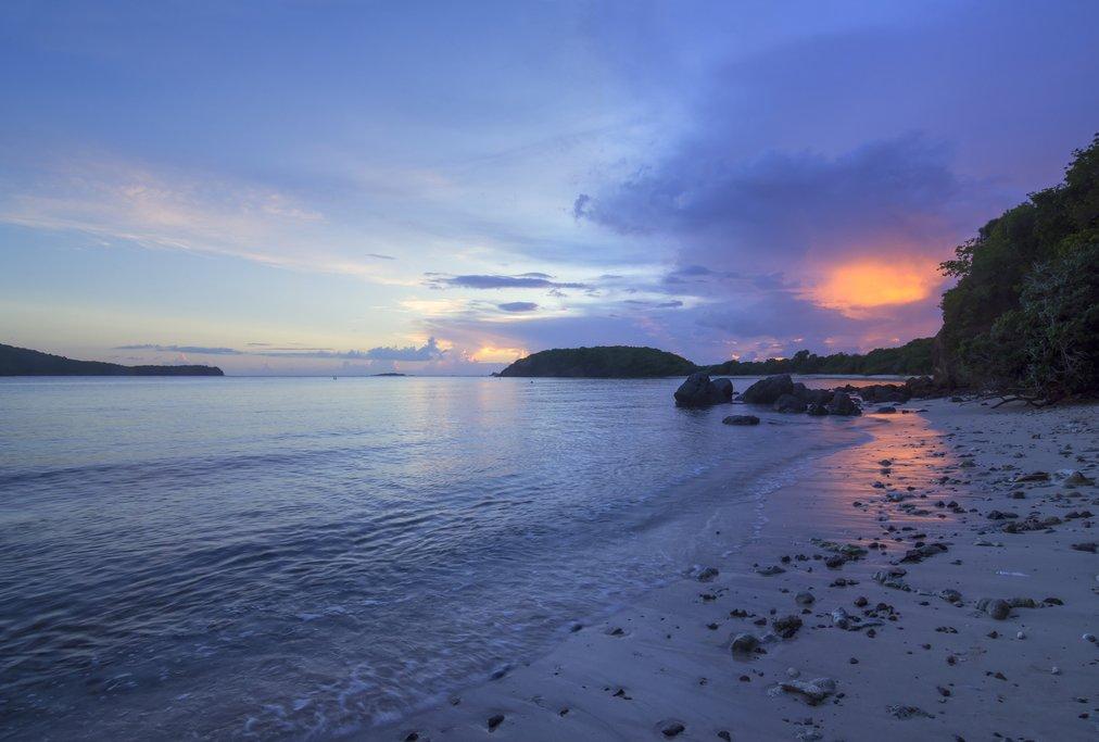 Sunset over the Nicoya Peninsula