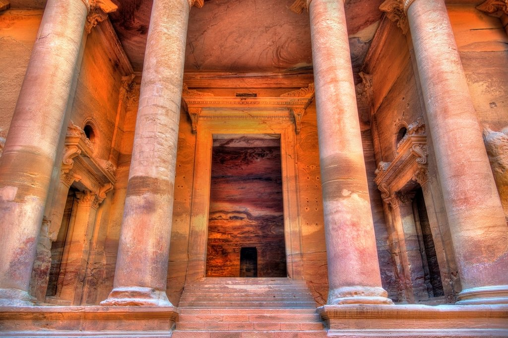Al Kazneh Temple in Petra