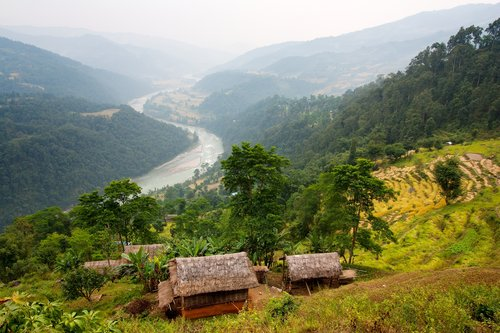 Arun Valley, Nepal