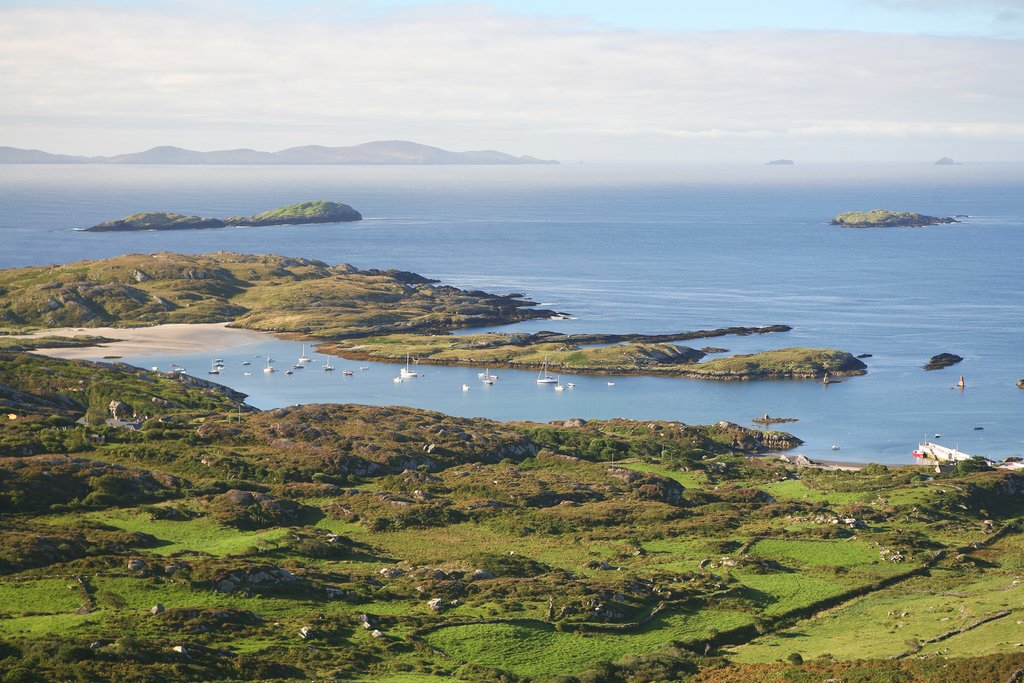 Admire stunning views every where you turn in Kerry County
