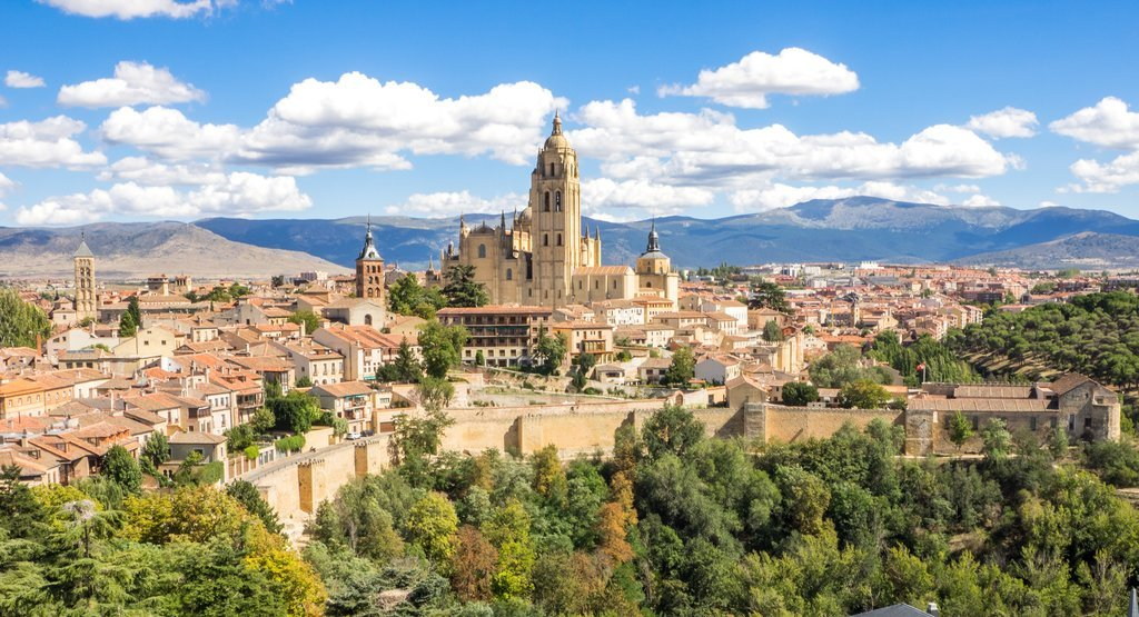 Take a day trip to the Gothic-style Segovia Cathedral