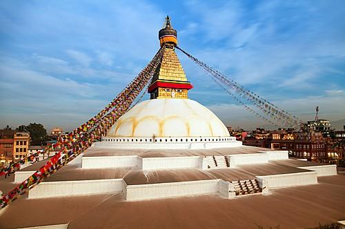 Kathmandu's famous Boudhanath Stupa