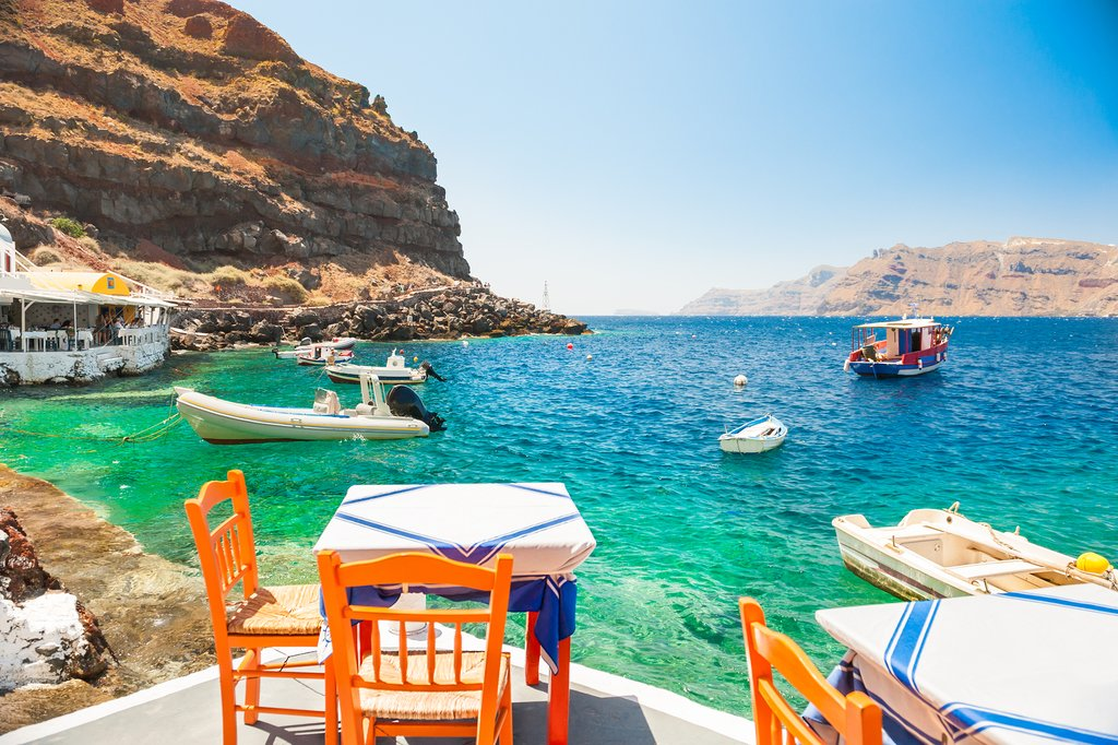 Relax in Greece on your next kimkim trip