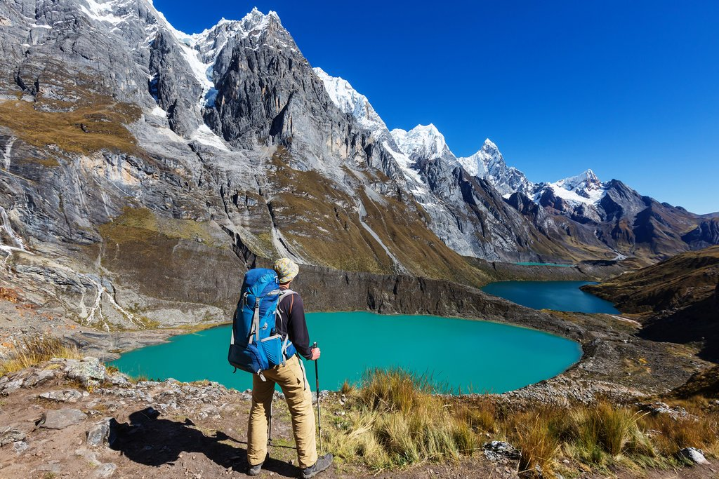 Hiking in the Peruvian Andes can be done solo or with a guide
