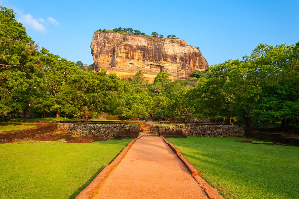 Sigiriya—the ancient fortress and UNESCO World Heritage Site