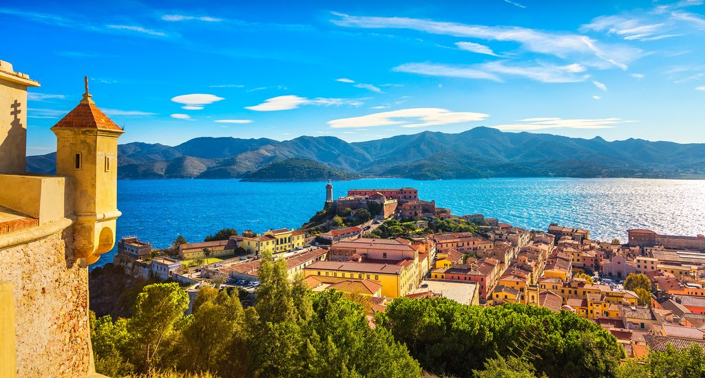 Take a ferry to Elba Island's Portoferraio