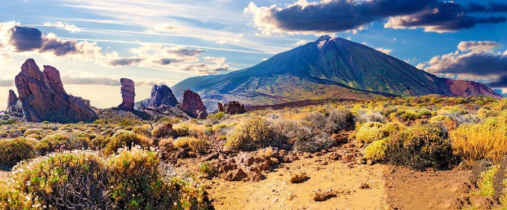 Tenerife's volcanic Mount Teide.