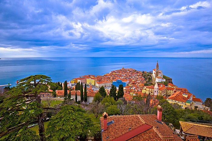 The idyllic town of Piran on Slovenia's Adriatic coast