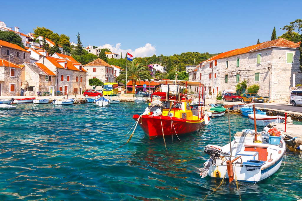 Šolta Island, Croatia