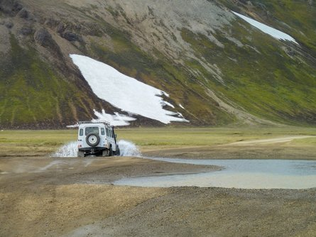 4x4 off-roading is a popular way to explore Iceland
