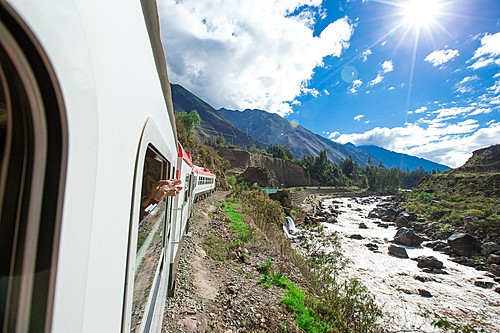Luxury train from Cusco to Machu Picchu
