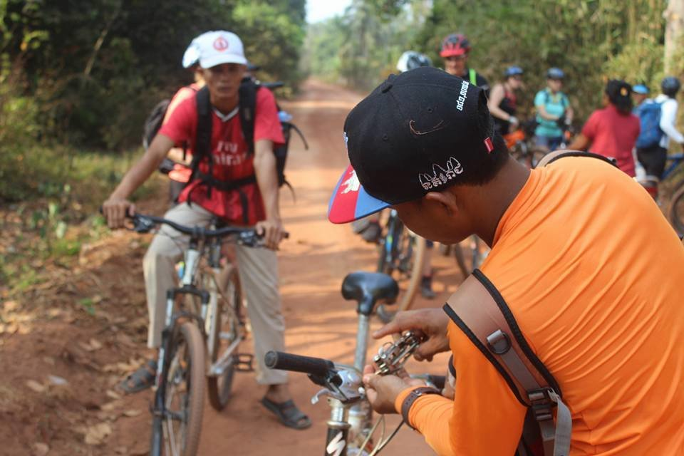 BIKING CHALLENGE IN CAMBODIA