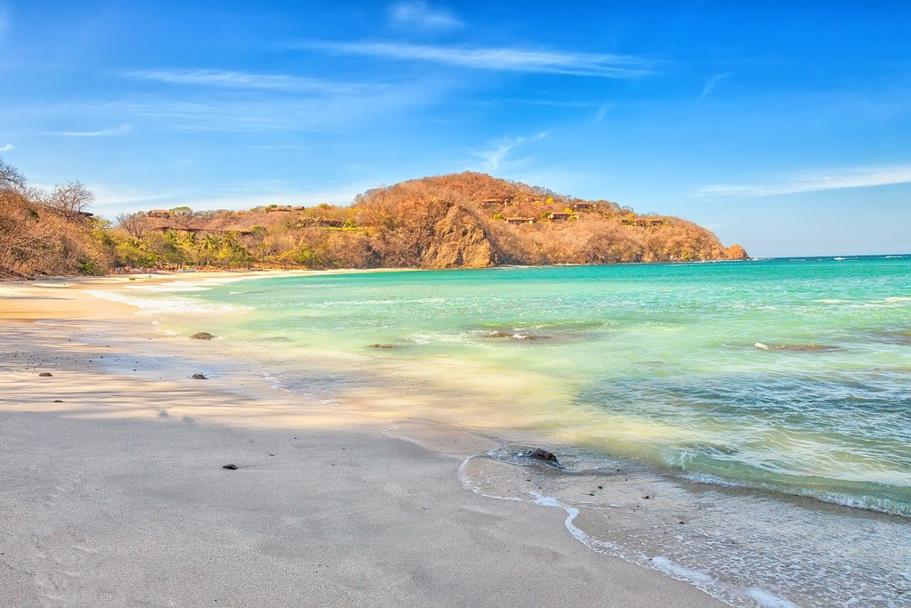 The arid landscapes and stunning beaches of the Guanacaste Province