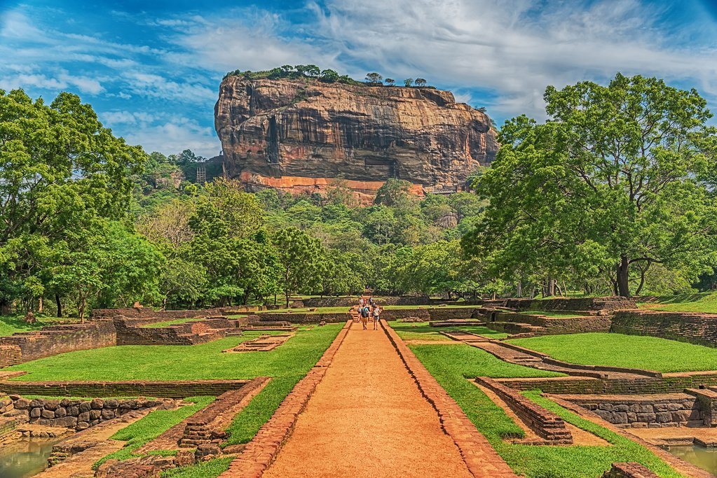 Lion Rock Fort at Sigiriya