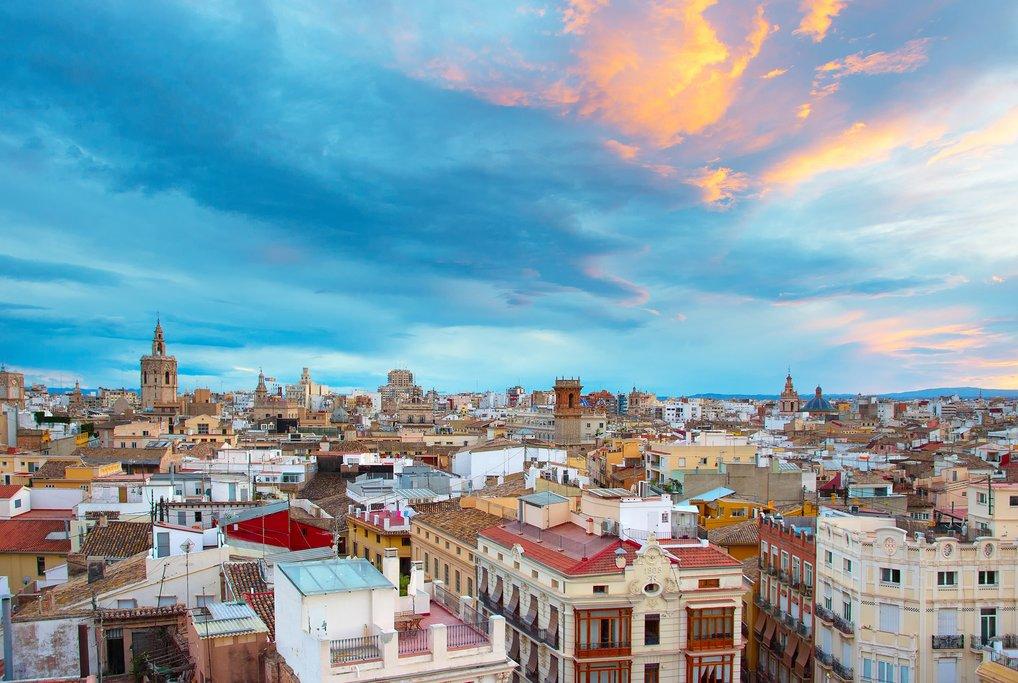 Catch a sunset over València