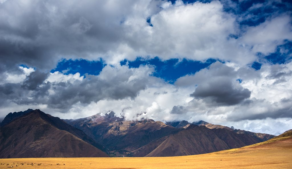 The vast expanse of the Sacred Valley