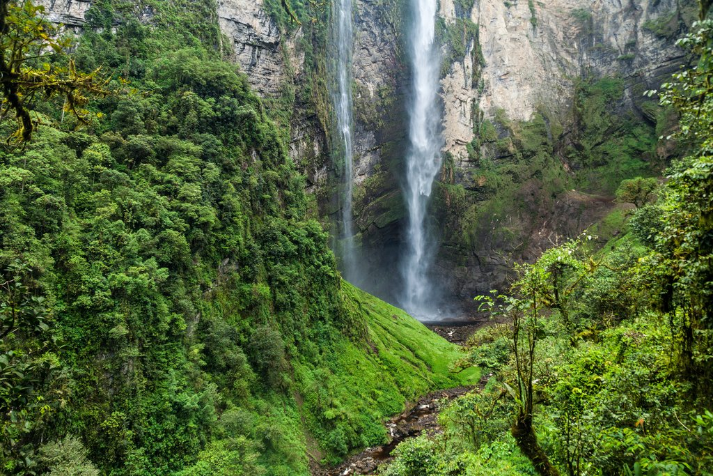 Catarata de Gocta is one of the highest waterfalls in the world