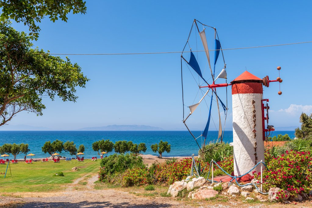 Windmill in western Rhodes