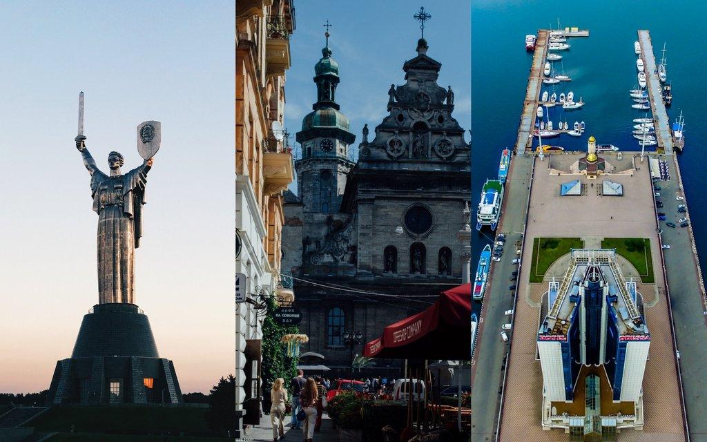 Kyiv, Lviv & Odesa