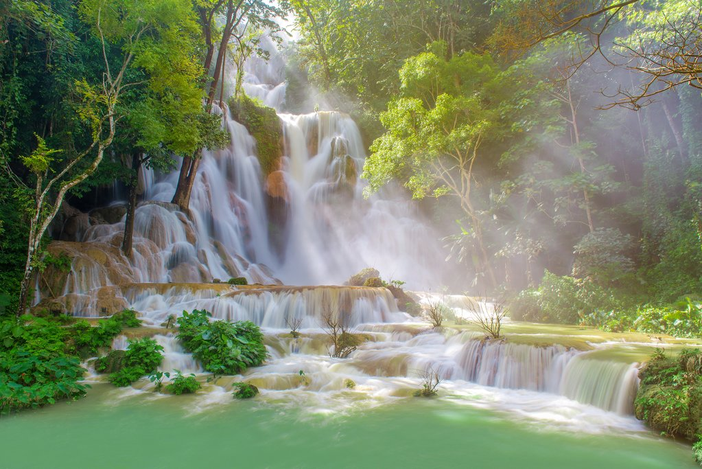 Tat Kuang Si Waterfalls, Luang Prabang