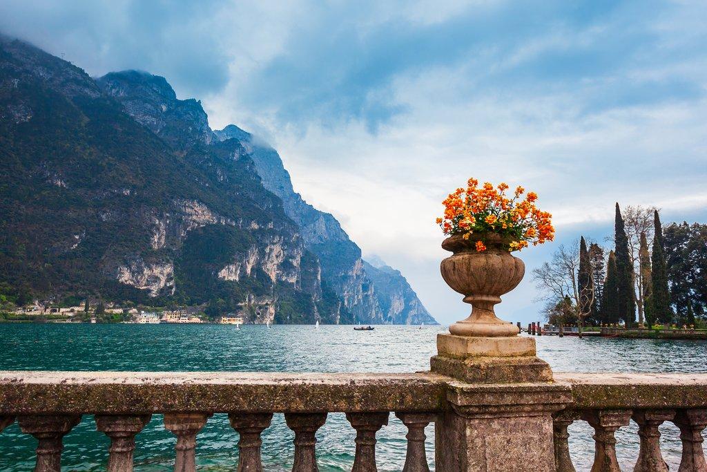 Along Lake Garda