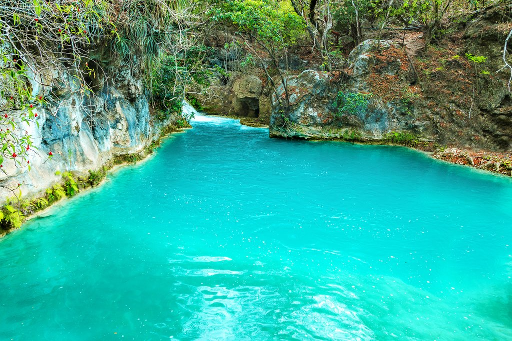 El Chiflón waterfalls, Chiapas