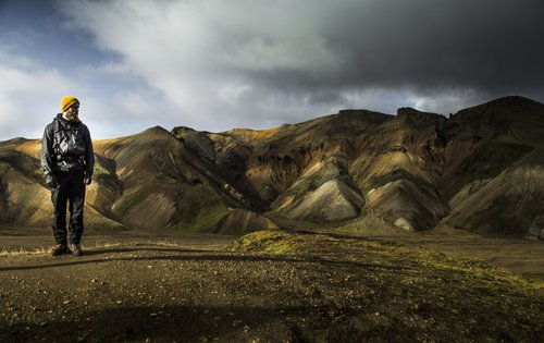 Amazing colors in Landmannalaugar, Iceland