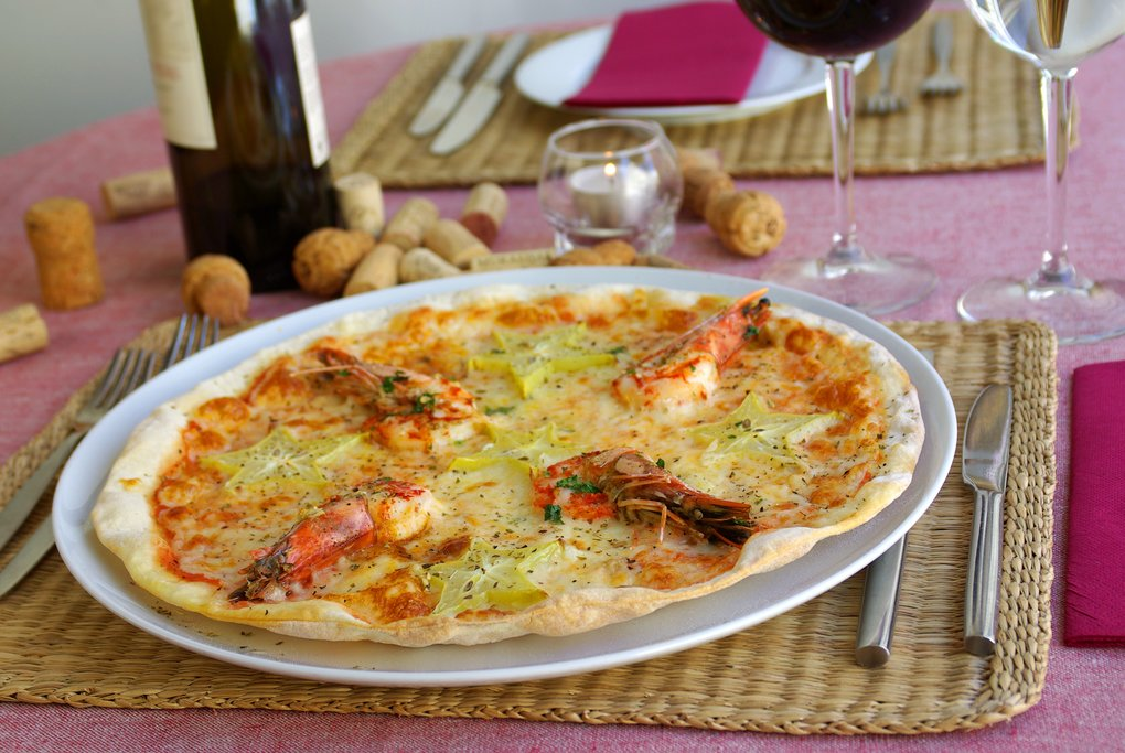 Typical Italian Pizza