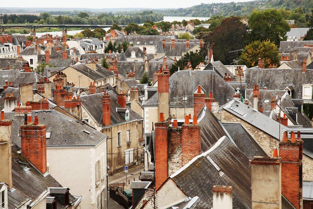 Cityscape of Blois