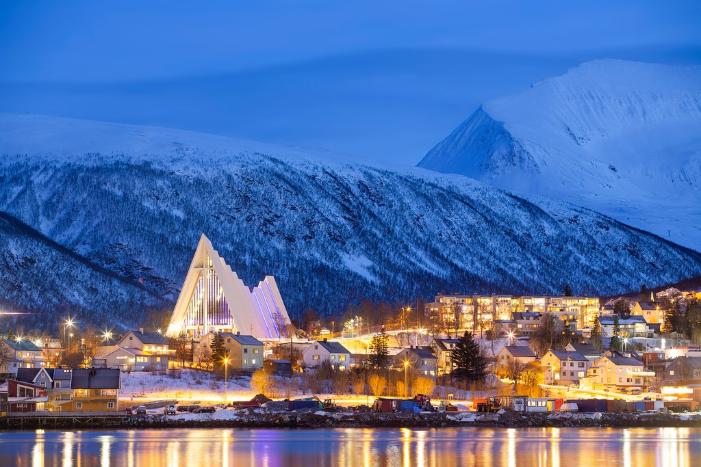 Tromsø, gateway to the Arctic and one of the northernmost cities on earth.