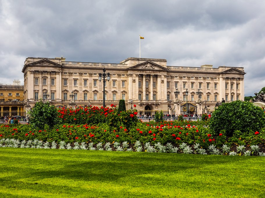 London's Buckingham Palace in Westminster