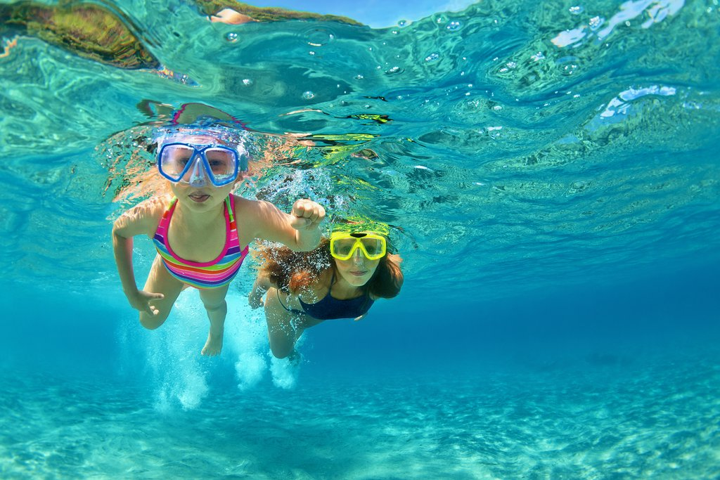 Snorkel with the family along Costa Rica's Caribbean Coast
