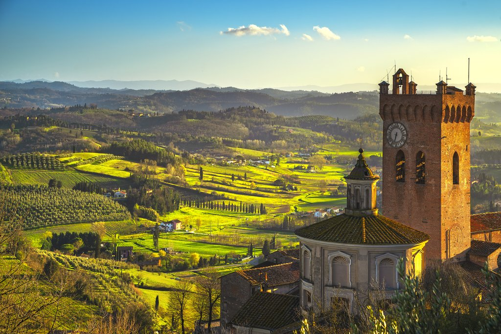 Explore the province of Pisa and visit medieval San Miniato