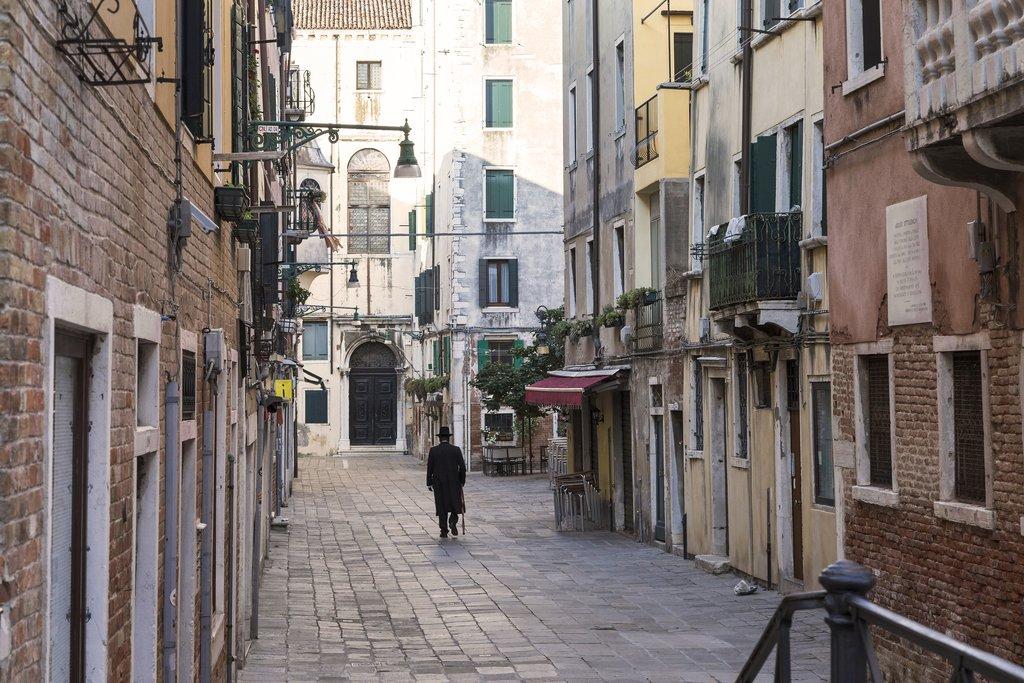 Former Jewish ghetto in the Cannaregio district, Venice