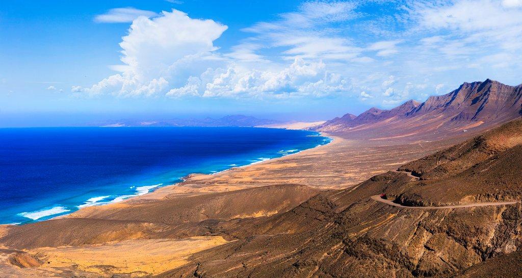 Fuerteventura's Wild Volcanic Beauty