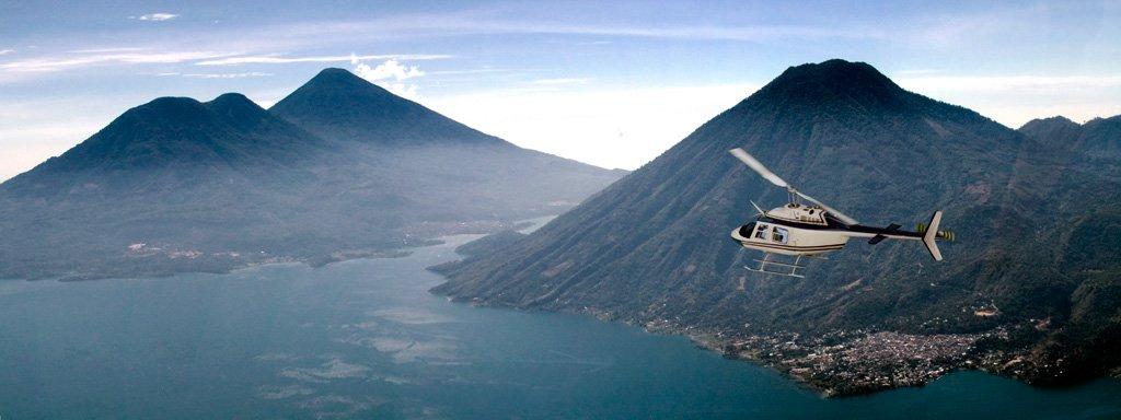 Overlooking Lake Atitlan, Guatemala