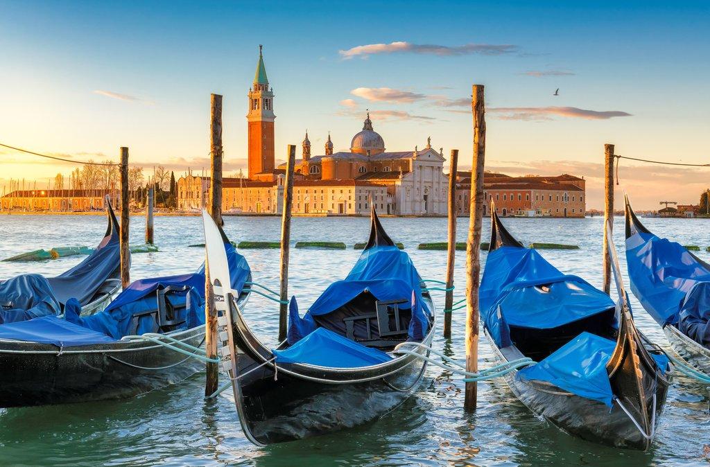 Sunrise at San Marco, Venice